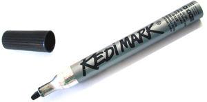 Picture of Dixon Redimark Black Markers 12 Count