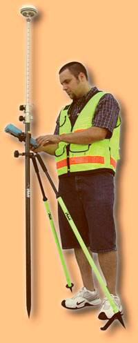 Picture of Seco GPS Carbon Fiber Rover Poles 5129-50