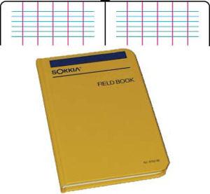 Picture of Sokkia Level Book 815255