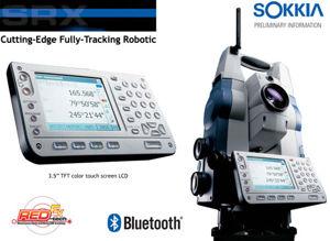 Imagen de Sokkia SRX Fully-Tracking Robotic Total Station