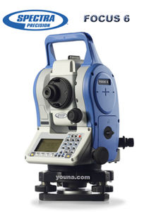 Picture of Spectra Precision FOCUS 6 Total Station