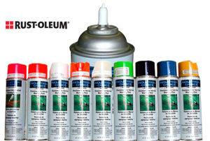 Picture of Rust-Oleum Inverted Marking Paint 25 boxes per order