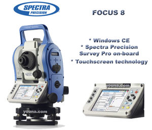 Picture of Spectra Precision Focus 8 Total Station