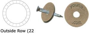 """Imagen de Brass Washers, 1 1/2 x 11/32"""" (Stamped)"""