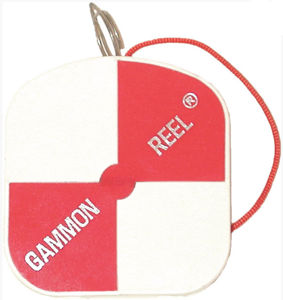 Picture of Gammon Reel 12 ft. White & Orange Flo Red String