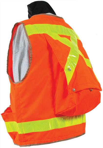 Imagen de Seco Safety Utility Vest with Back Pack 8068