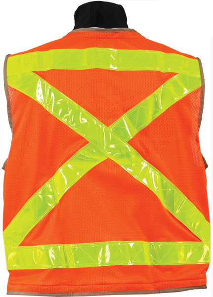 Picture of Seco Safety Utility Vest with Mesh Back 8069