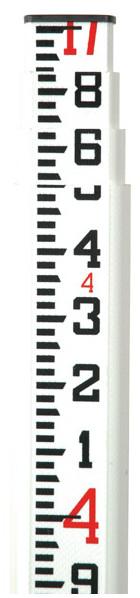 Imagen de Seco Crain SVR Fiberglass Leveling Rod, 17' 98020 98021