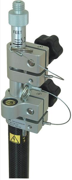 Picture of Seco Robotics Carbon Fiber, Two Section Prism Pole - cm/10ths Grad 5129-72