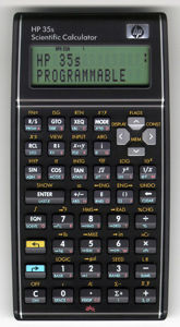 Picture of Hewlett-Packard HP 35s Scientific Calculator 8853585142859