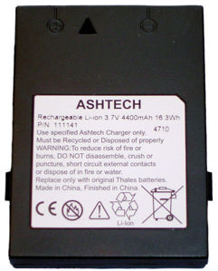 Picture of Spectra Ashtech Battery Pack for ProMark 3, and Mobile Mapper  980782