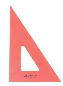 "Imagen de Alvin FT390 10"" Florescent Ink Edge Triangle 30/60 Degrees"