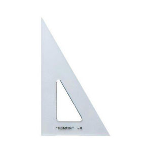 "Imagen de Alvin S1390 10"" Triangle Scholastic 30/60 Degrees"