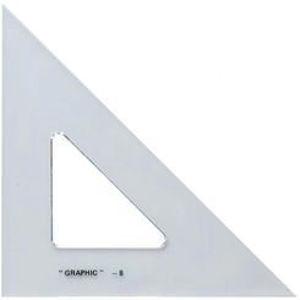 "Imagen de Alvin S1450 12"" Triangle Scholastic 45/90 Degrees"