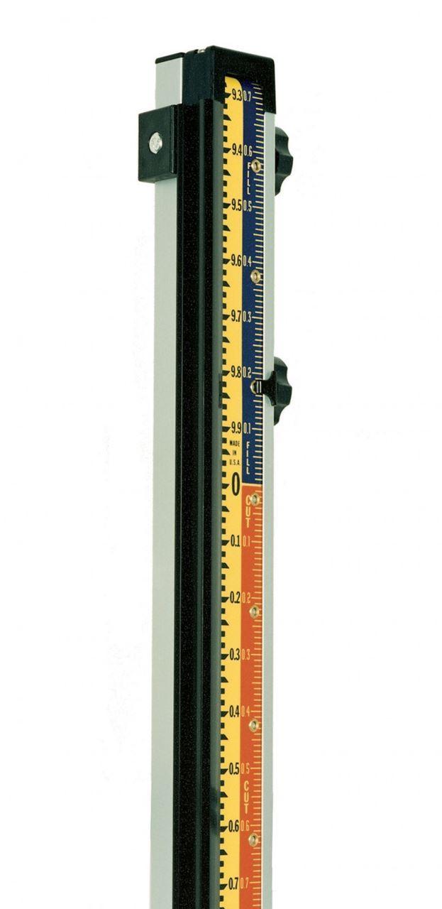 Imagen de LaserLine GR1000 10' Direct Elevation Cut and Fill Rod Tenths