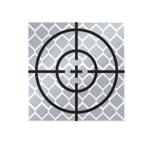 Picture of SitePro Reflective Retro Target, Stick Ons (10 Pack), 03-RT30MM