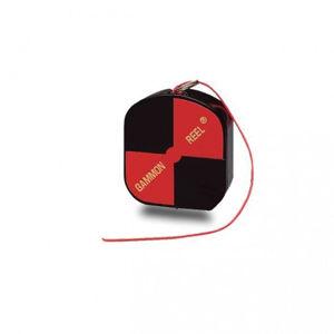 Imagen de SitePro Gammon Reel 12-ft (3.6m) Fluorescent Red Cord, Construction Hi-Vis Black/Orange Target  15-012B