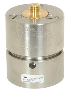 Picture of Seco Adjustable Tilt Monument Mounts For 2 Inch Pipe with MPT 2 x 11-1/2 TPI - 2072-31