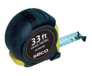 Imagen de Seco 33 ft Heavy-Duty Tape - 10ths/metric - 4769-06