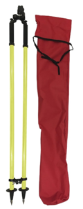 Imagen de Seco Construction Series Thumb-Release Bipod - Flo Yellow - 5217-40-FLY