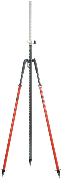 Picture of Seco Quick Lever Bipod with Thumb Release Legs- RED - 5217-50-RED
