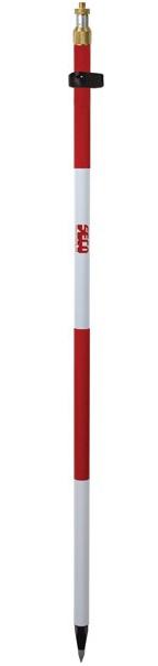 Imagen de Seco 8.5 ft Compression Lock Adjustable Tip Pole - Red and White - 5600-10