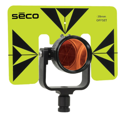 Picture of Seco 62 mm Premier Prism Assembly with 6 x 9 inch Target- 6402-02 (3 Colors Available)