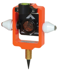 Picture of Seco Mini Stakeout Prism with Site Cones - Flo Orange - 6405-10-FOR