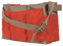 Imagen de Seco 18 Inch Stake Bag with Center Partition and Heavy-Duty Rhinotek Bag - 8091-20-ORG