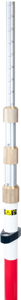 Imagen de Sokkia 15ft Compression Lock Prism Pole (Adjustable tip, Dual Grad) - 724208