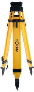 Picture of Sokkia Wood Tripod Dual Clamp w/ Tool Clamp - 724252
