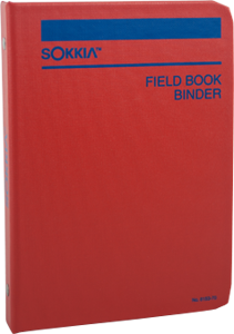 Picture of Sokkia Binder Stiff Cover 50 Page Cap - 815370
